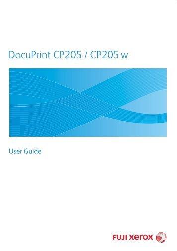 Fuji Xerox Docuprint C3300 User Manual