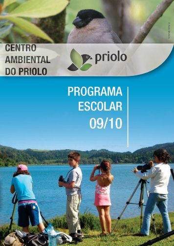 PROGRAMA ESCOLAR - Centro Ambiental do Priolo - spea.pt