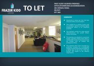 first floor business premises office/showroom accommodation 285 ...