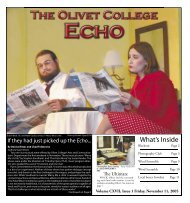 What's Inside - Olivet College-Education for Individual and Social ...