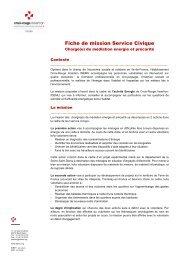 Fiche de mission Service Civique - IDEMU