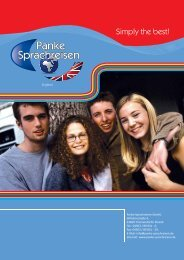 Broschüre als PDF - Panke Sprachreisen GmbH