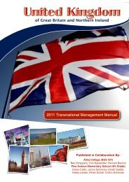Transnational Management Manual - Alma College