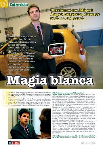 Entrevista Charlamos con Miguel Ángel Hortelano, director técnico ...