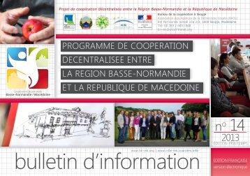 Bulletin n°14 : printemps 2013 - Horizons Solidaires