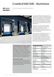 Crawford 660 SME - Aluminium