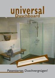 universal Duschboard