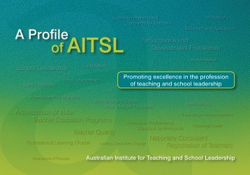 AITSL Profile - Australian Institute for Teaching and School Leadership