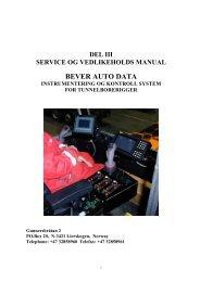 BEVER AUTO DATA - Bever Control AS