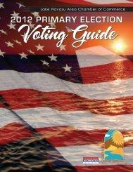 2012 primary election - Lake Havasu Area Chamber of Commerce