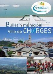 Bulletin municipal Ville de CH RGES - Mairie de Chorges