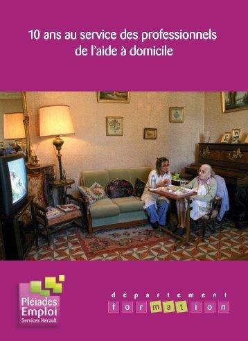 catalogue formation - Pléiades Emploi Services Hérault