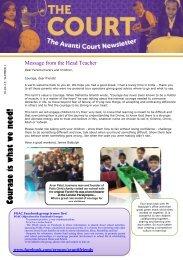 Courage is what we need! - Avanti Schools Trust