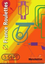 Polyamide - Sept Roulettes
