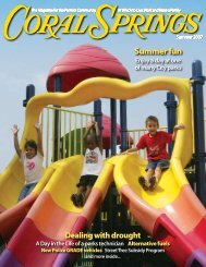 Summer fun - City of Coral Springs