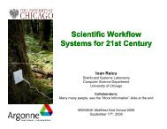 Scientific Workflow Systems for 21st Century - Open Science Grid