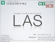 Langage d'analyse des structures