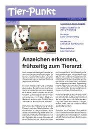 August 2012 - Kleintierpraxis Dr. Fritz