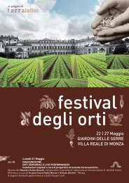Festival Orti Monza - AIS Lombardia