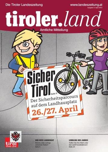 Sicher Tirol - Die Tiroler Landeszeitung