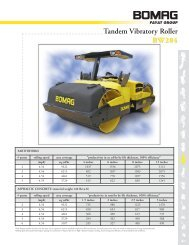 Tandem Vibratory Roller BW284 - Attrans Commercials Ltd.