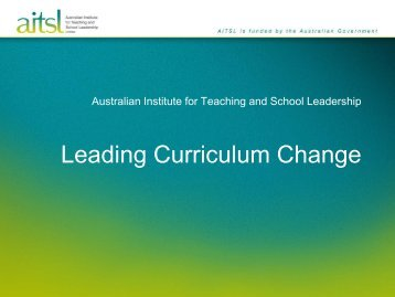 Orientation Presentation - Learning Centre - Australian Institute for ...
