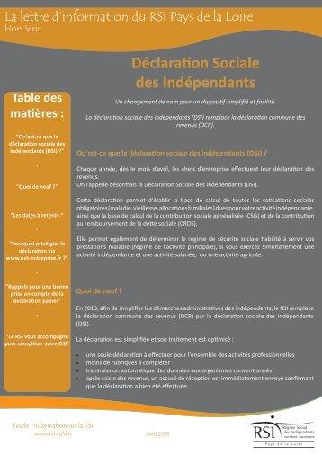 Lettre d'information - Ordre des experts comptables des Pays de Loire