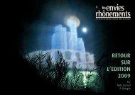 RETOUR SUR L'EDITION 2009-2.indd