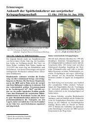 Ankunft der Spätheimkehrer aus sowjetischer ... - Herleshausen