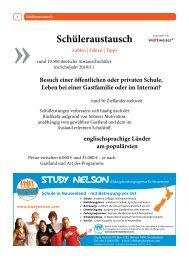 Qualität im Schüleraustausch - Stubenhocker - Die Zeitung für ...