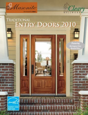 Entry Doors 2010 Entry Doors 2010 - Cleary Millwork