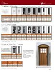 Entry Doors 2010 Entry Doors 2010 - Cleary Millwork - Page 4