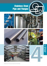 Stainless Steel Pipe and Flanges - Atlas Steels