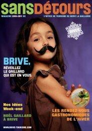 9816 Brochure Hiver.indd - Office de tourisme de Brive La Gaillarde