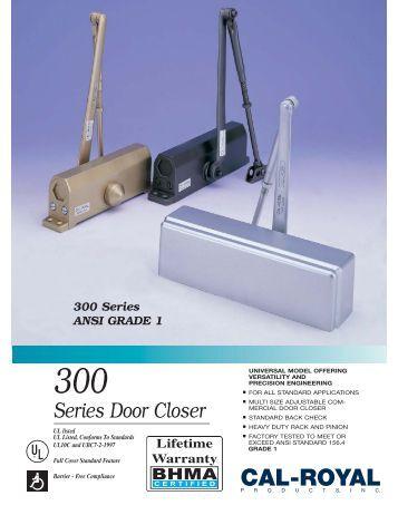 700 Series Door Closer New Fp Cal Royal