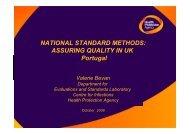 NATIONAL STANDARD METHODS: ASSURING ... - biognostica