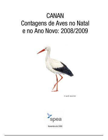 CANAN Contagens de Aves no Natal e no Ano Novo: 2008 ... - spea