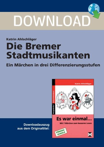Die Bremer Stadtmusikanten - Persen Verlag GmbH