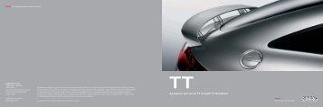 Accessori per Audi TT Coupé/TT Roadster