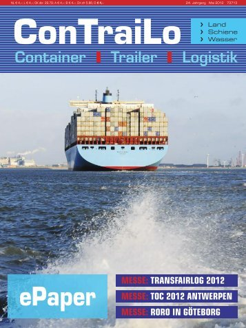 ConTraiLo – August 2012 Messevorschau: IAA 2012 ... - Tagesaktuell