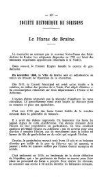 SOCIÉTE HISTORIQUE DE SOlSSONS - Société archéologique ...