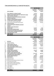 UFRS Mali Tablolar 30 06 2011 - Teb.com