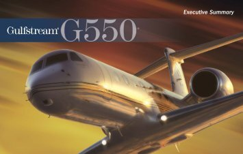 Gulfstream G550 Specifications (PDF) - Legacy Aviation Group