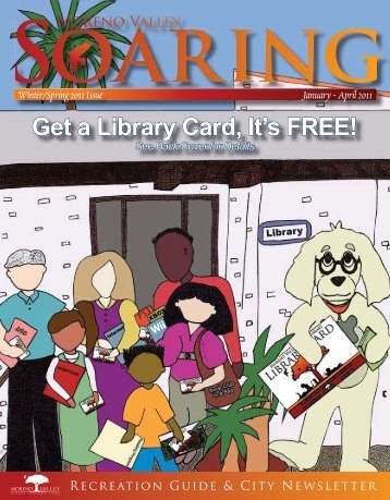 Get a Library Card, It's FREE! - Moreno Valley