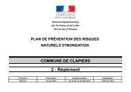 2 reglement PPRI clapiers - Mairie de Clapiers