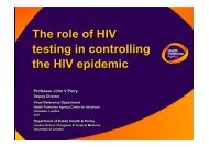 The role of HIV testing in controlling the HIV epidemic ... - biognostica