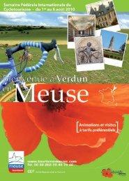 ramme partici- tarifs - Tourisme en Meuse