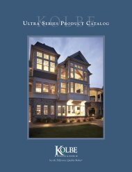 ULTRA SERIES PRODUCT CATALOG - Cleary Millwork