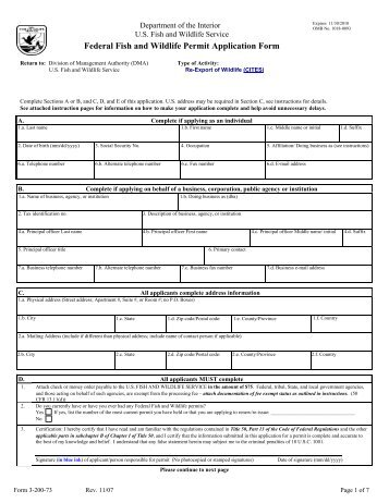 cites form 3-200-20 - Shakari Connection