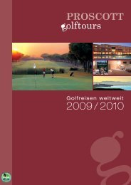 Golfreisen weltweit